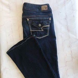 [American Eagle] The Artist Stretch flare size 8